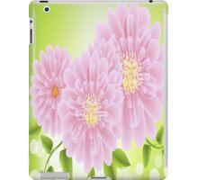 Pink Flowers iPad Case iPad Case/Skin