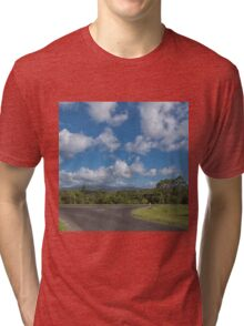 Country Road in Queensland Tri-blend T-Shirt