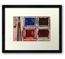 Watercolours 4 Framed Print