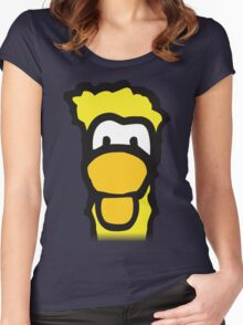 The Yellow Penguin Women's Fitted Scoop T-Shirt