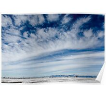 Colorado Clouds and Deep Blue Poster