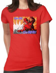 North Korean Propaganda - Red Army Womens Fitted T-Shirt