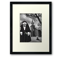 ❀◕‿◕❀ SISTER LILLY BEAR WITH SCRIPTURE ❀◕‿◕❀ Framed Print