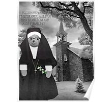 ❀◕‿◕❀ SISTER LILLY BEAR WITH SCRIPTURE ❀◕‿◕❀ Poster