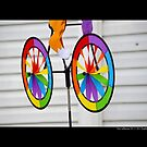 Bicycle Pinwheel Toy Detail by © Sophie W. Smith