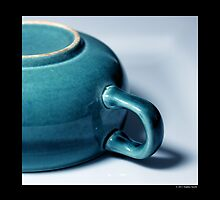Vintage Turquoise Teacup Detail  by © Sophie W. Smith