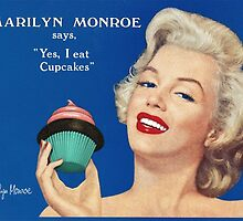 Marilyn's cupcake by cupcake-couture