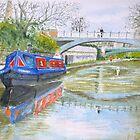 Regent's Canal by HurstPainters