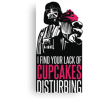 Darth vader's Cupcakes Canvas Print