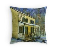Gail Gate House Throw Pillow