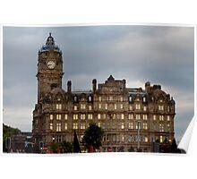 The Balmoral in Edinburgh Poster