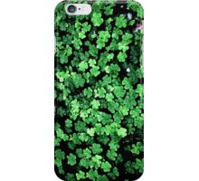 Shamrock Lucky Clover iPhone iPod Case iPhone Case/Skin