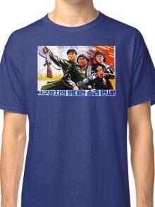 North Korean Propaganda - Troops Classic T-Shirt