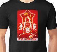 USSR Propaganda - Hammer and Sickle Unisex T-Shirt