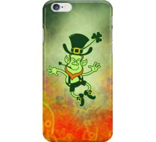 Irish Leprechaun Clapping Feet iPhone Case/Skin