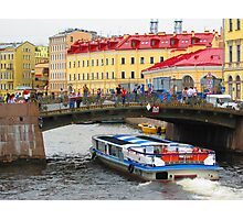 Venice of the North - Vaporetto Photographic Print