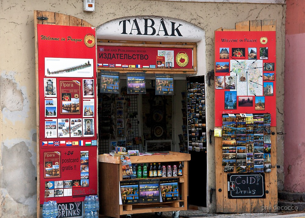 Tabak Shop by phil decocco