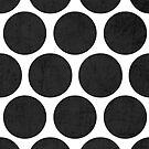 black polka dots by beverlylefevre