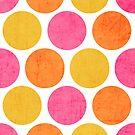 summer polka dots by beverlylefevre