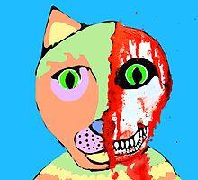 Skull Cat by Trent Shy