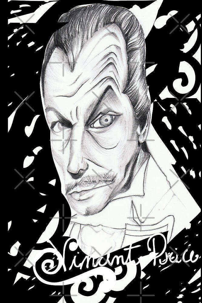 Vincent Price by ecrimaga