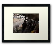 The Commute… Framed Print