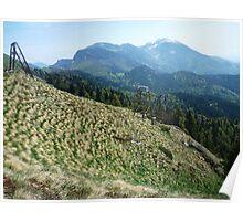Mountains Golica Poster