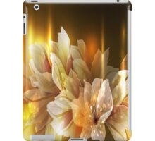 Golden Flowers iPad Case iPad Case/Skin