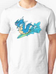 Gyarados Used Surf  Unisex T-Shirt