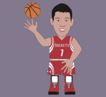 NBAToon of Jeremy Lin, player of Houston Rockets by D4RK0