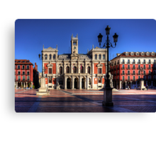 Valladolid Town Hall Canvas Print