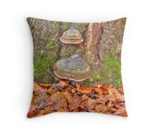 Details of an enchated forest II Throw Pillow