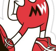 Mangler Willie Sticker