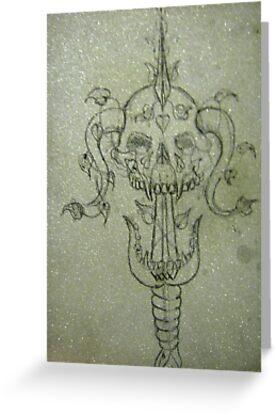 Sverd og Skull by Black Smith