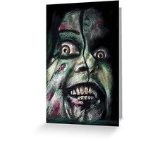 """""""I will feast on your soul!"""" Greeting Card"""