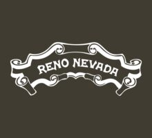 Reno Nevada (familiar logo) by Steve Hryniuk