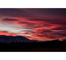 Lenticular Sunset Photographic Print