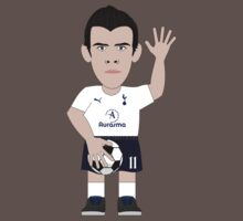 CelebriToon of Gareth Bale, player of Tottenham Hotspurs by D4RK0
