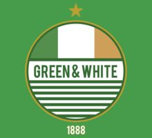 Glasgow's Green & White by Calum Margetts Illustration