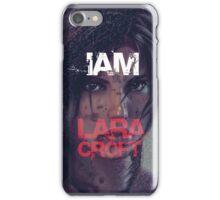 Lara Croft iPhone Case/Skin