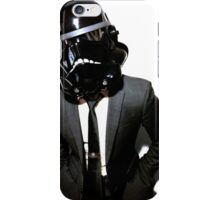 corporate shadowtrooper iPhone Case/Skin