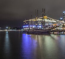 A rain filled night at the Harbour 1.3.13 by Paul Campbell  Photography