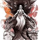 TAGAREANS THRONE  by Lizhuerta