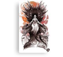 TAGAREANS THRONE  Canvas Print