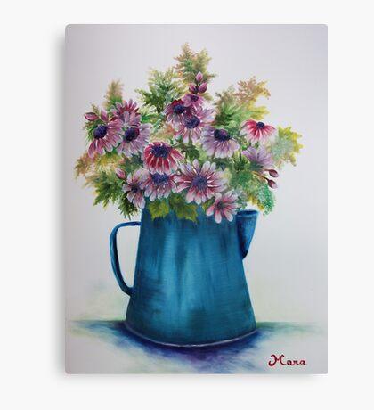 Pitcher Daisies Canvas Print