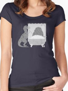 Meteor Shower Women's Fitted Scoop T-Shirt