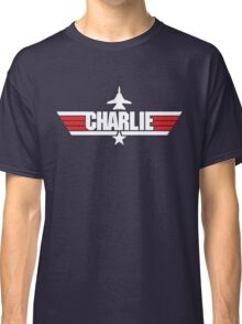 Custom Top Gun Style - Charlie Classic T-Shirt