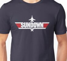 Custom Top Gun Style - Sundown Unisex T-Shirt
