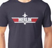 Custom Top Gun Style - Merlin Unisex T-Shirt
