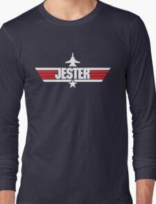Custom Top Gun Style - Jester Long Sleeve T-Shirt